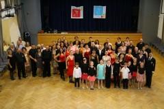 Děkovačka na taneční akademii